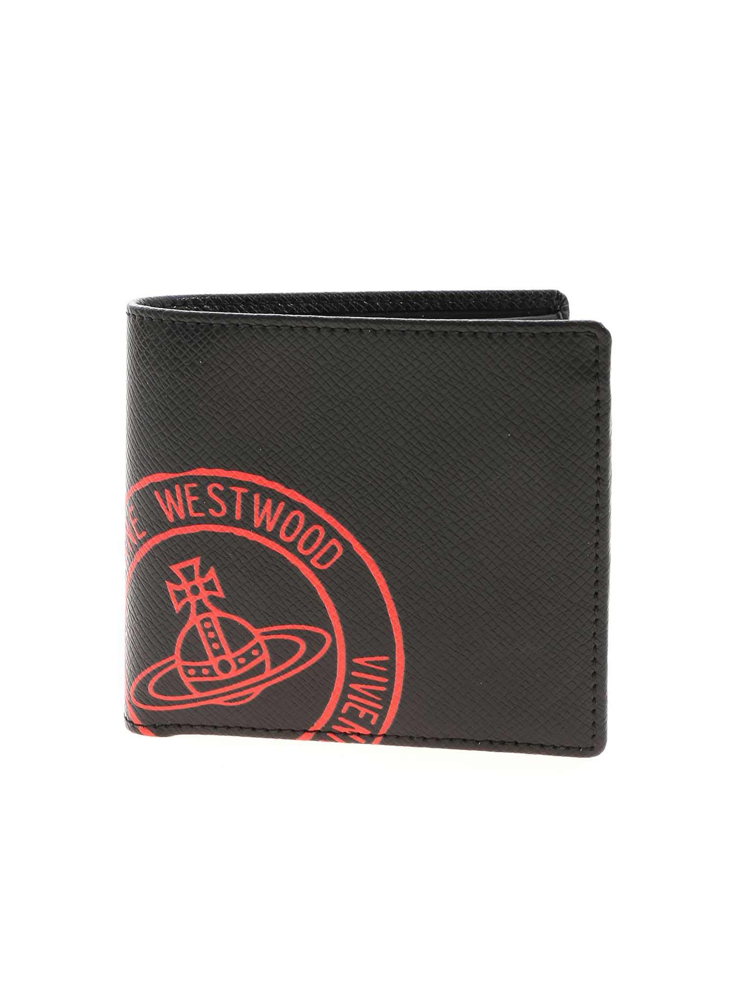 Vivienne Westwood KENT WALLET IN BLACK
