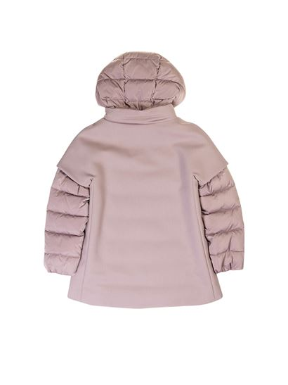 Herno - Padded coat in Lilac color