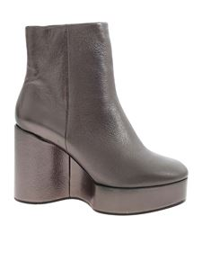 Clergerie - Belen4 ankle boots in anthracite color
