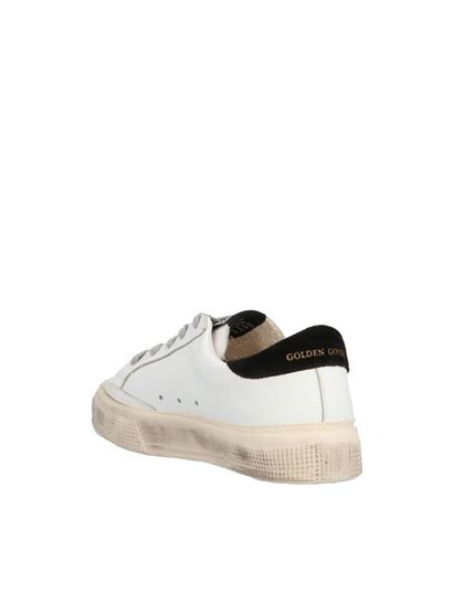 Golden Goose - May sneakers in white and black