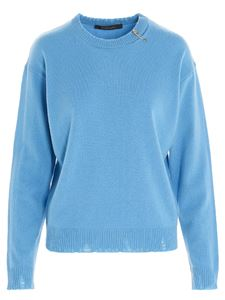 Versace - Cashmere pullover in light blue