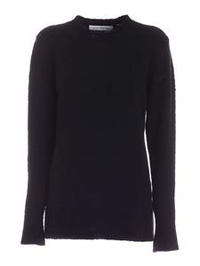 Department 5 - Merinos and cashmere pullover in black