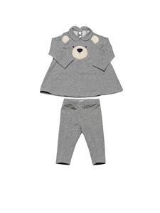 Il Gufo - Teddy bear tracksuit in grey