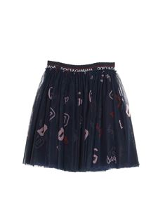 Dolce & Gabbana Jr - Gonna logata in tulle