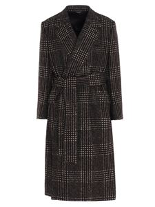 Dolce & Gabbana - Prince of Wales coat in multicolor