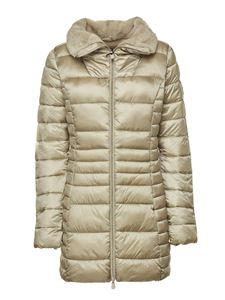 Save the duck - Quilted puffer jacket in pink