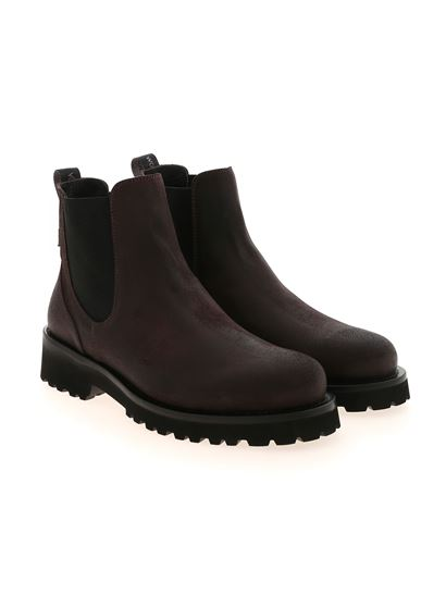 Woolrich - Chelsea ankle boots in brown