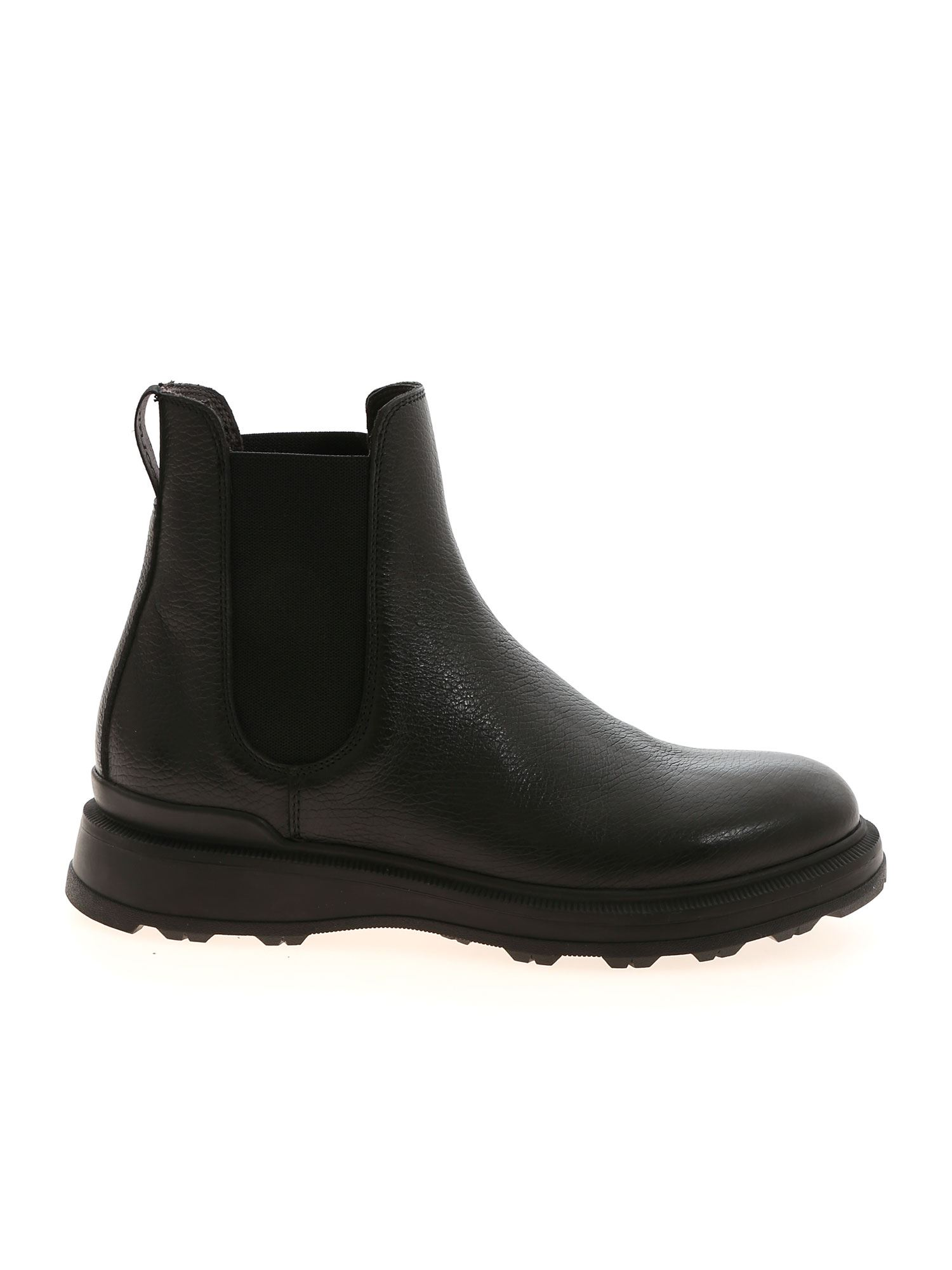 Woolrich CHELSEA ANKLE BOOTS IN BLACK