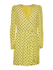 Red Valentino - Polka dots dress in yellow