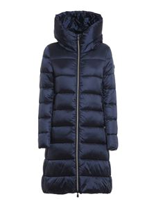 Save the duck - Quilted padded jacket in blue