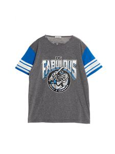 Dolce & Gabbana Jr - Fabulous Royals T-shirt in grey