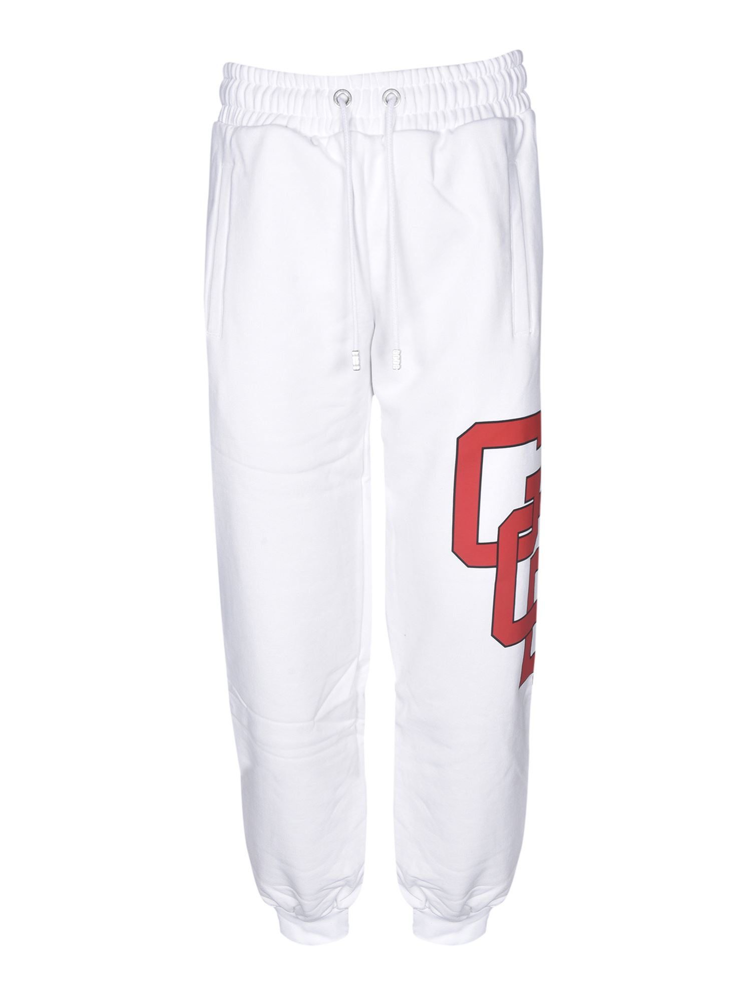 Gcds XCIV GCDS TRACKPANTS IN WHITE