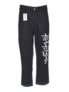 Palm Angels - Desert Logo chino pants in black