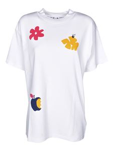Off-White - Flowers Tomboy T-shirts in white
