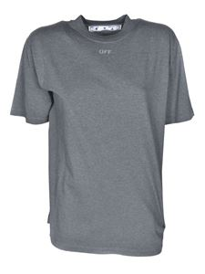 Off-White - Arrow Casual T-shirts in grey