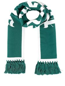 Palm Angels - Wool-cotton blend scarf