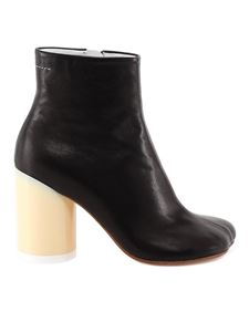 MM6 Maison Margiela - Two-tone ankle boots