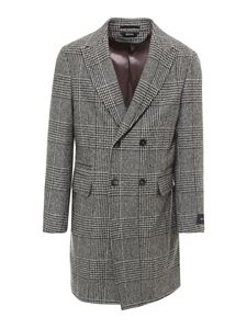 Z Zegna - Prince of Wales wool coat