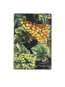 Dolce & Gabbana - Small Dauphine wallet with Grape print