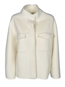Mes Demoiselles - Canada short coat in ivory color