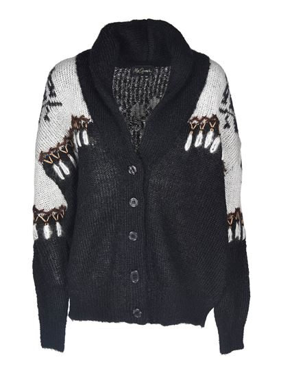 Mes Demoiselles - Dwight cardigan in black