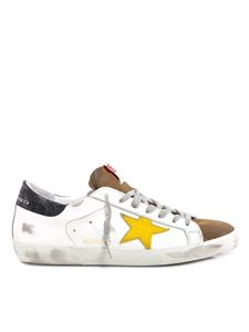 Golden Goose - Superstar Classic suede and leather sneakers