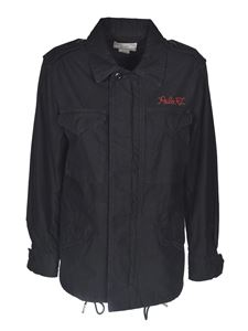 POLO Ralph Lauren - Embroidered logo jacket in black