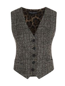 Dolce & Gabbana - Prince of Wales and Animalier waistcoat