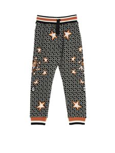 Dolce & Gabbana Jr - Fashion Tiger pants in grey