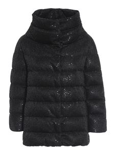 Herno - Sequined puffer jacket