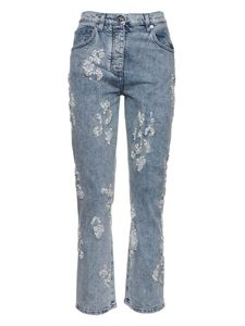 Blumarine - Ripped jeans in light blue
