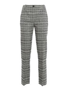 Patrizia Pepe - Check patterned trousers