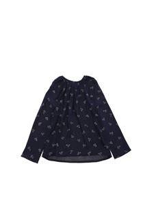 Bonpoint - All-over print blouse in blue