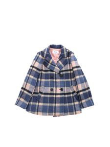 Bonpoint - Placide coat in shades of blue