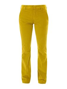 Dondup - Cotton flared trousers