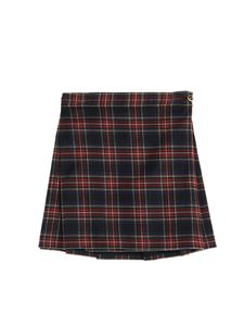 Dolce & Gabbana Jr - Gonna corta stampa Tartan