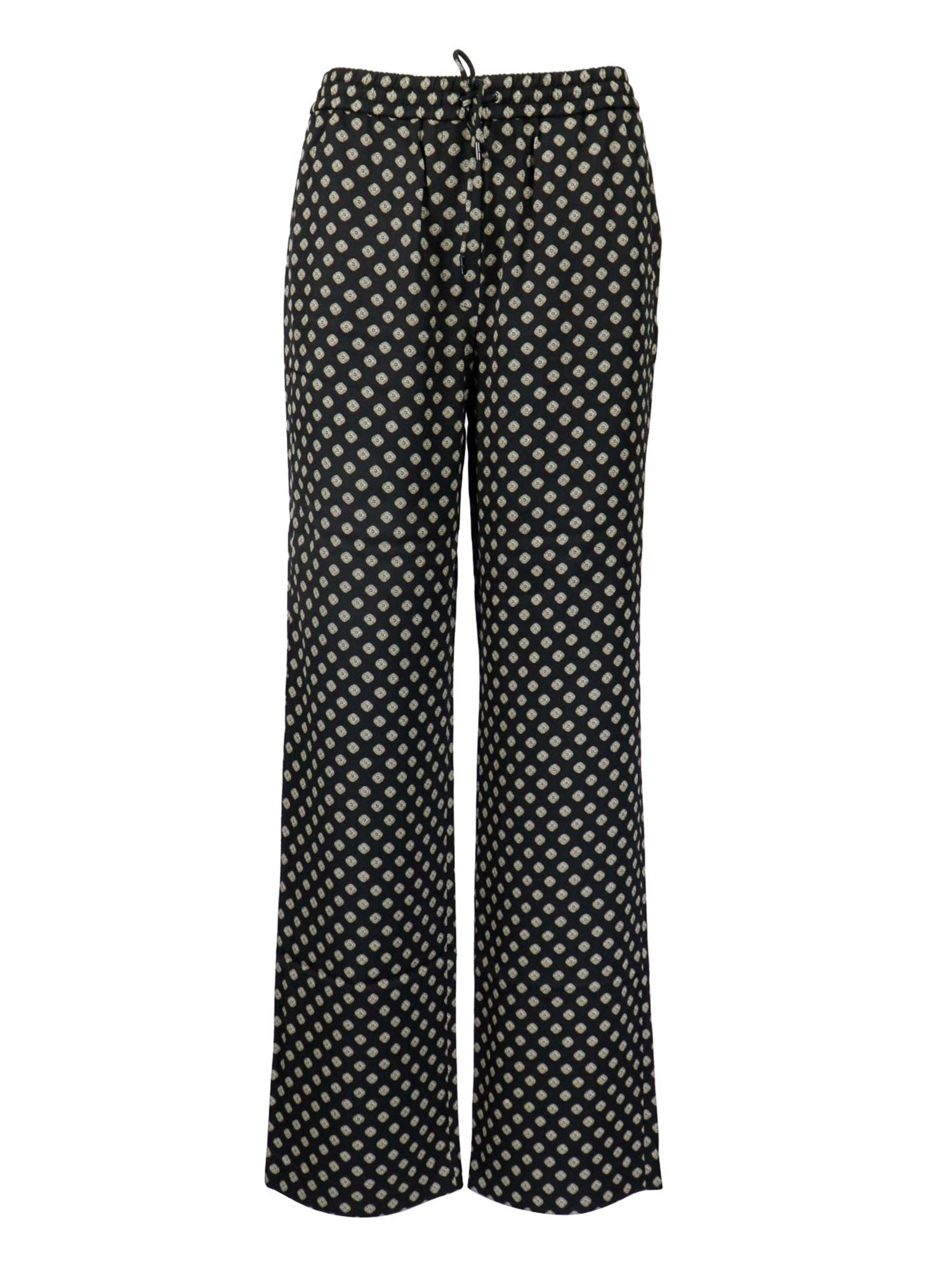 Michael Kors POLKA DOTS VISCOSE TROUSERS