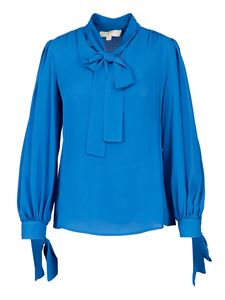 Michael Kors - Bow silk blouse