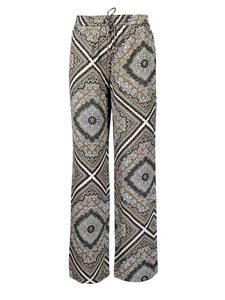 Michael Kors - Medallion Scarf trousers