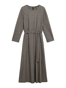 Max Mara Weekend - Pascia dress in brown and white