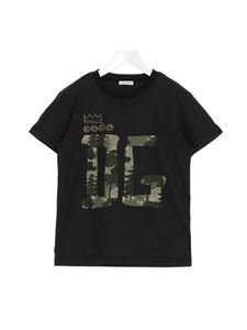 Dolce & Gabbana Jr - DG Forest T-shirt in black