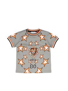 Dolce & Gabbana Jr - DG Tiger T-shirt in grey
