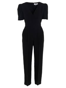 MSGM - Puff sleeves cady jumpsuits