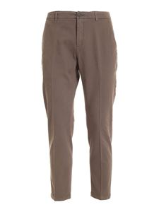 Department 5 - Prince pants in dove grey color
