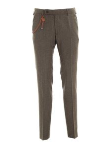 berWich - Morello pants in melange grey
