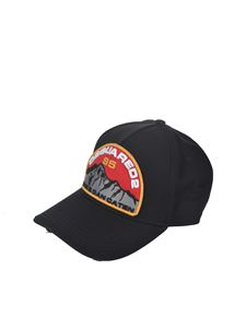 Dsquared2 - Canadan Caten cap in black