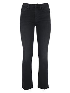 Mother - Bootcut delavè bootcut jeans in black