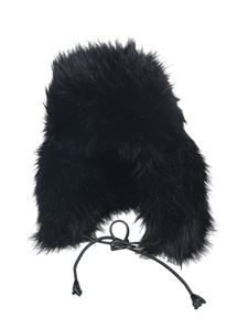 Dsquared2 - Faux fur hat in black