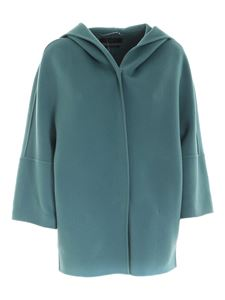 Max Mara Weekend - Rapace coat in turquoise