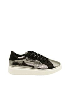 Philippe Model - Mirrored sneakers with branded laces
